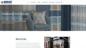 Till6 portfolio - Webové stránky miros.cz PC