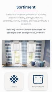Till6 portfolio - Webové stránky miros.cz mobil