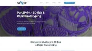 Till6 portfolio - Webové stránky part2print.cz PC